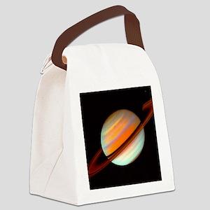 SPEEDY SATURN Canvas Lunch Bag