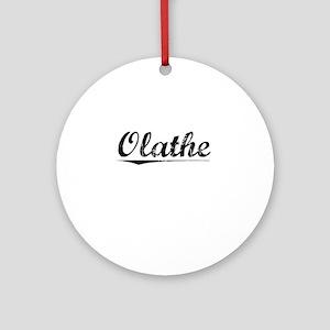 Olathe, Vintage Round Ornament