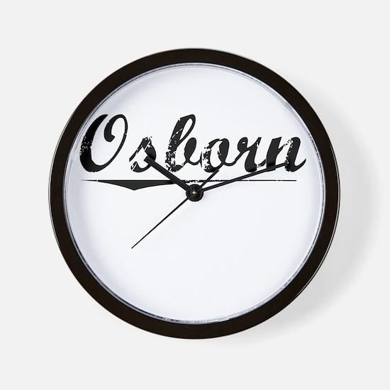 Osborn, Vintage Wall Clock