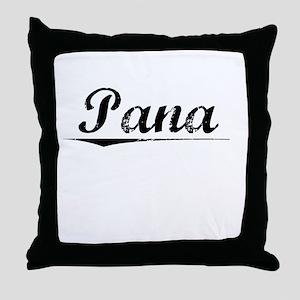 Pana, Vintage Throw Pillow
