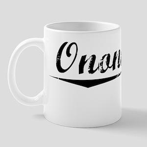 Onondaga, Vintage Mug