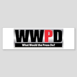 WW the Presa D Bumper Sticker
