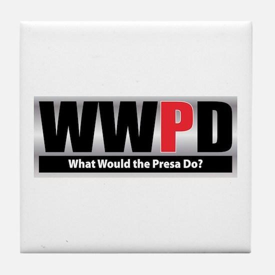 WW the Presa D Tile Coaster
