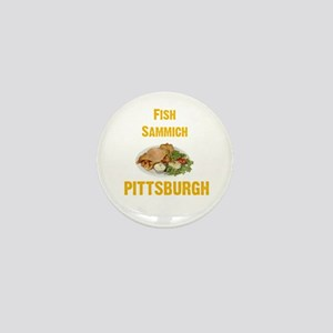 Fish sammich Mini Button