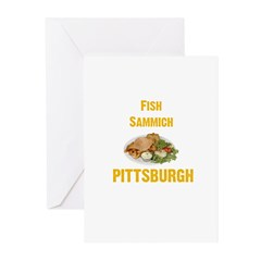 Fish sammich Greeting Cards (Pk of 10)