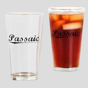 Passaic, Vintage Drinking Glass