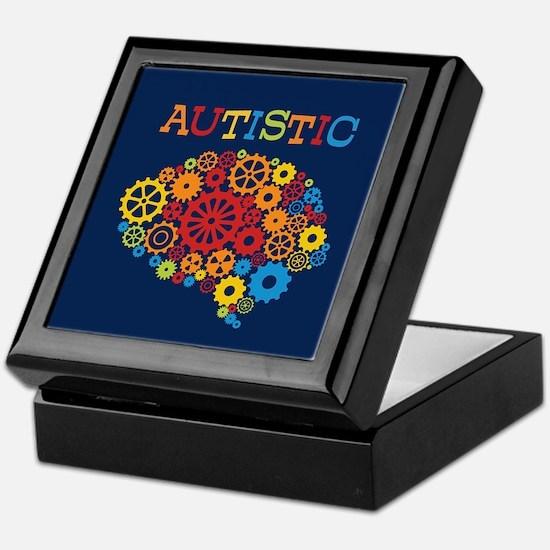 Autistic Brain Keepsake Box