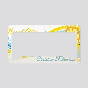 Beach Cities Waves License Plate Holder