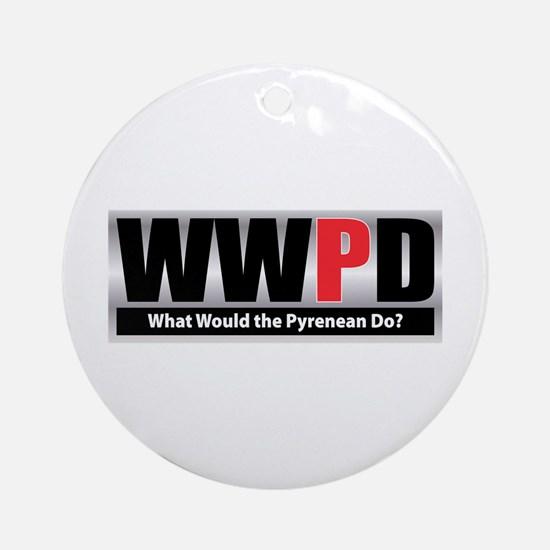 WW the Pyrenean D Ornament (Round)