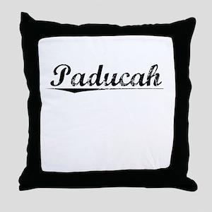 Paducah, Vintage Throw Pillow
