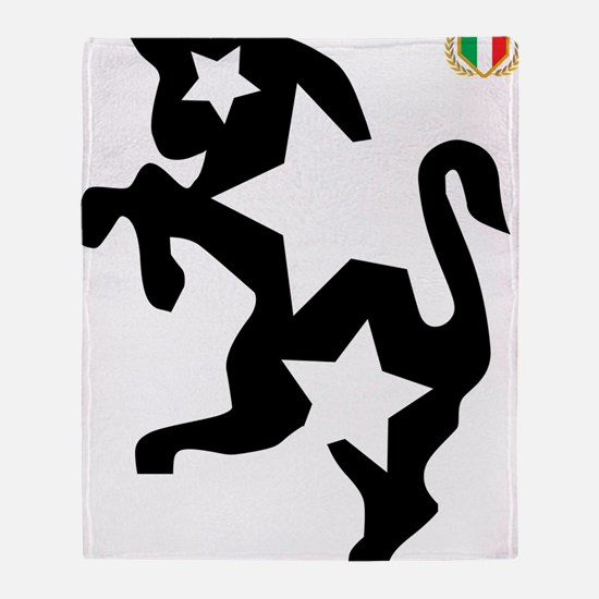 JuventiKNOWS Triple-star Bull Logo Throw Blanket