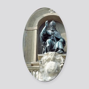 Pope Gregory XIII, Italian pope Oval Car Magnet