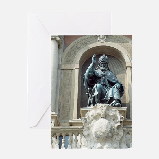 Pope Gregory XIII, Italian pope Greeting Card