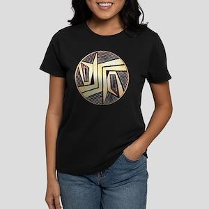 MIMBRES DOORS BOWL DESIGN Women's Dark T-Shirt
