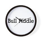 Bull Fiddle Wall Clock