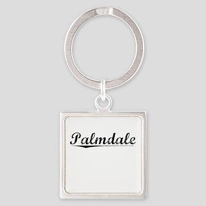 Palmdale, Vintage Square Keychain