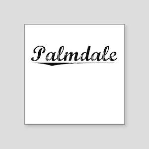 "Palmdale, Vintage Square Sticker 3"" x 3"""