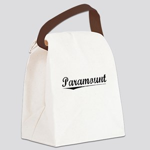 Paramount, Vintage Canvas Lunch Bag