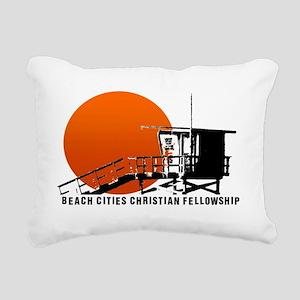 Lifeguard Sun Rectangular Canvas Pillow