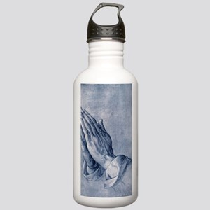 Praying hands, art by  Stainless Water Bottle 1.0L