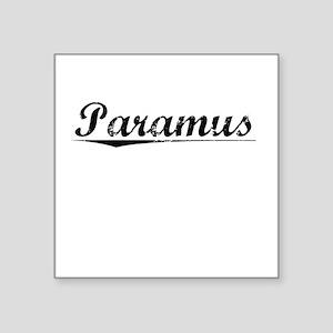 "Paramus, Vintage Square Sticker 3"" x 3"""