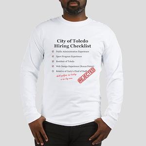 Toledo Hiring Checklist T-Shirt