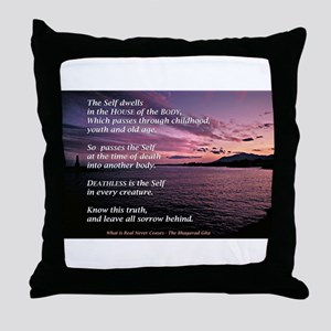 Gita Sunset Throw Pillow