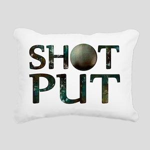 Shot Put Rectangular Canvas Pillow