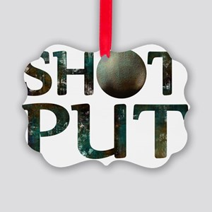 Shot Put Picture Ornament
