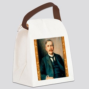 Portrait of physicist Ernest Ruth Canvas Lunch Bag