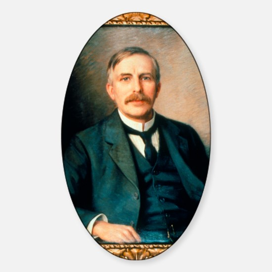 Portrait of physicist Ernest Ruther Sticker (Oval)