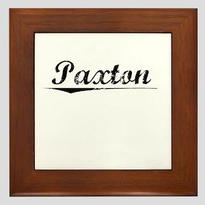 Paxton, Vintage Framed Tile