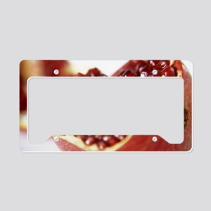 Pomegranate License Plate Holder