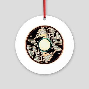 MIMBRES EXIT BOWL DESIGN Ornament (Round)