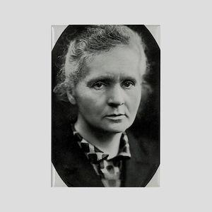 Portrait of Marie Curie Rectangle Magnet