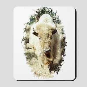SACRED WHITE BUFFALO Mousepad