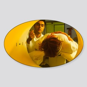 Positron Emission Tomography (PET)  Sticker (Oval)