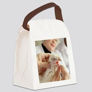 Poultry veterinary inspection Canvas Lunch Bag