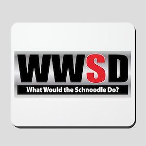 WW the Schnoodle D Mousepad