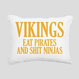 vikingPirates1E Rectangular Canvas Pillow