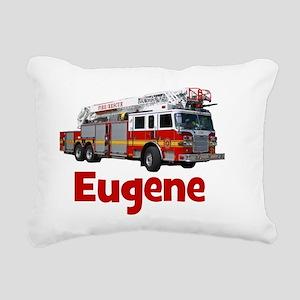 EUGENE - FIRE TRUCK - CU Rectangular Canvas Pillow