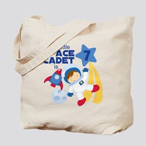 Astronaut is 7 Tote Bag