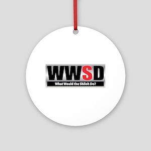 WW the Shiloh D Ornament (Round)