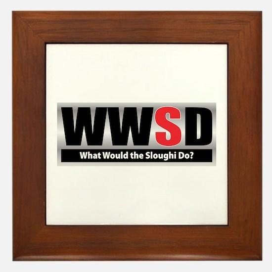 WW the Sloughi D Framed Tile