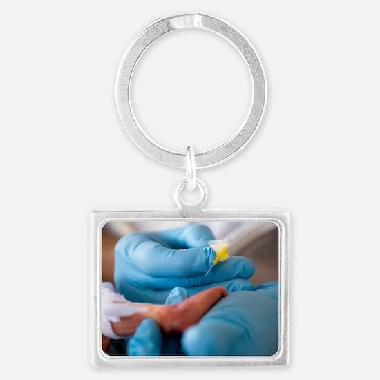 Premature baby Landscape Keychain