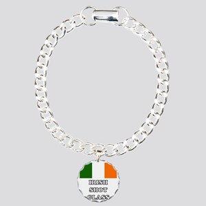 Irish Shot Glass Charm Bracelet, One Charm