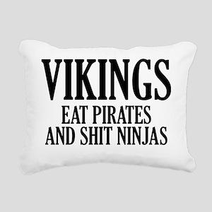 vikingPirates1A Rectangular Canvas Pillow