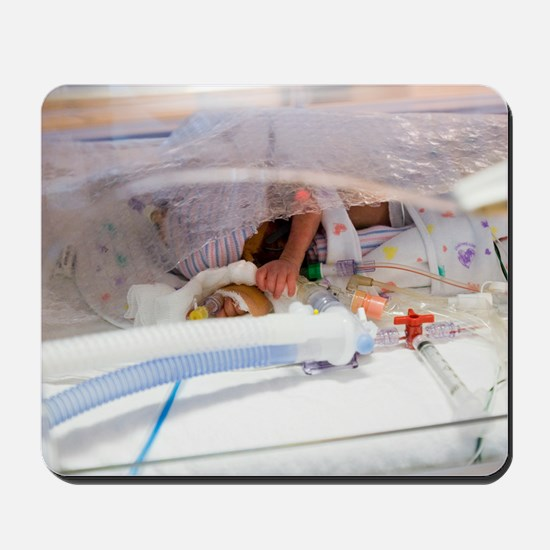Premature baby Mousepad