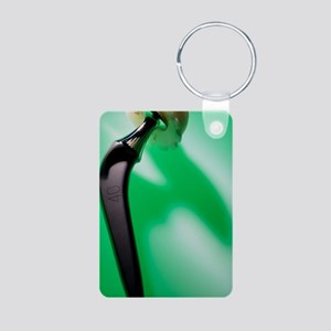 Prosthetic hip (artificial Aluminum Photo Keychain