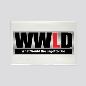 WW the Lagotto D Rectangle Magnet